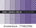 Ultra Violet Diagonal And...