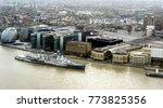 Hms Belfast Ship On The River...