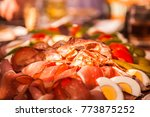 austrian meat food | Shutterstock . vector #773875252