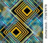 seamless pattern patchwork... | Shutterstock . vector #773878978