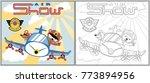 air show cartoon vector ...   Shutterstock .eps vector #773894956