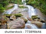 amazing water stream and... | Shutterstock . vector #773898646
