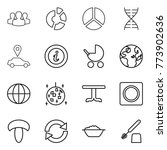 thin line icon set   group ...   Shutterstock .eps vector #773902636