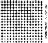 grunge halftone black and white ... | Shutterstock .eps vector #773924602