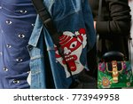 milan   september 23  woman... | Shutterstock . vector #773949958