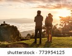 huai nam dang national park ...   Shutterstock . vector #773954125