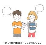 vector illustration character... | Shutterstock .eps vector #773957722