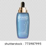 design cosmetics product ... | Shutterstock .eps vector #773987995