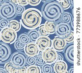five color seamless pattern of... | Shutterstock .eps vector #773988676