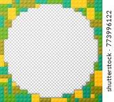vector template frame for photo ... | Shutterstock .eps vector #773996122