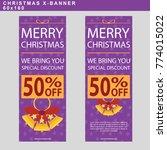 winter sale web banner at... | Shutterstock .eps vector #774015022