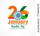 illustration of happy indian... | Shutterstock .eps vector #774040132