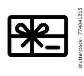 discount gift card | Shutterstock .eps vector #774041215
