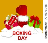 boxing day  commonwealth  | Shutterstock .eps vector #774071248