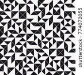 vector seamless pattern. modern ... | Shutterstock .eps vector #774072055