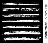 white monochrome chalk charcoal ... | Shutterstock . vector #774093448