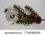 unique handmade christmas... | Shutterstock . vector #774098395