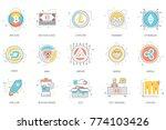 bitcoin  blockchain  ... | Shutterstock .eps vector #774103426