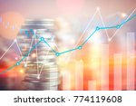 finance  capital banking and...   Shutterstock . vector #774119608