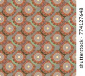 new color seamless pattern with ...   Shutterstock .eps vector #774127648
