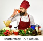 professional cookery concept....   Shutterstock . vector #774136006