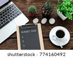 budget 2018 business concepts | Shutterstock . vector #774160492