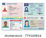 car driver license with photo...