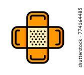 medical   plaster  | Shutterstock .eps vector #774164485