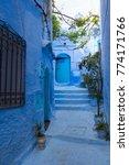 traditional moroccan courtyard... | Shutterstock . vector #774171766