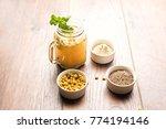 jal jeera or jaljira is an... | Shutterstock . vector #774194146