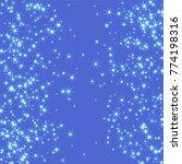 blue  cold  scattered... | Shutterstock .eps vector #774198316