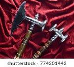 Vintage Kitchen Hammer And...