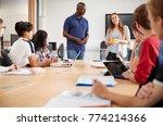 college student making... | Shutterstock . vector #774214366