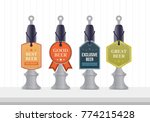 beer pump collection. beer pump ... | Shutterstock .eps vector #774215428