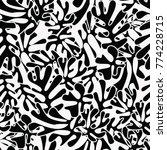 matisse inspired shapes... | Shutterstock .eps vector #774228715