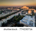bucharest capital city of... | Shutterstock . vector #774230716