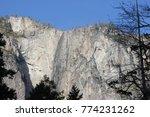 view of portion of el capitan...   Shutterstock . vector #774231262