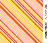 seamless pattern in memphis...   Shutterstock .eps vector #774244906