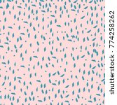 trendy abstract pattern in... | Shutterstock .eps vector #774258262