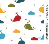 seamles vector pattern. vector... | Shutterstock .eps vector #774275572
