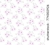 fashionable pattern in small...   Shutterstock . vector #774302926