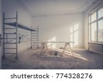 home renovation   room during... | Shutterstock . vector #774328276