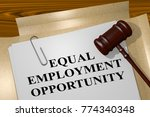 "3d illustration of ""equal... 