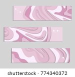 abstract banner template with... | Shutterstock .eps vector #774340372