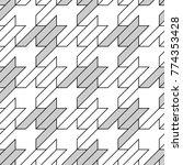seamless surface pattern design ... | Shutterstock .eps vector #774353428