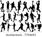 basketball | Shutterstock .eps vector #7743691