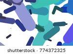 light multicolor  rainbow... | Shutterstock .eps vector #774372325