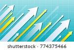 financial arrow graph   Shutterstock .eps vector #774375466