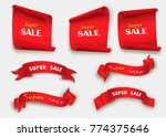 big sale banner.super sale... | Shutterstock .eps vector #774375646