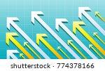 financial arrow graph   Shutterstock .eps vector #774378166